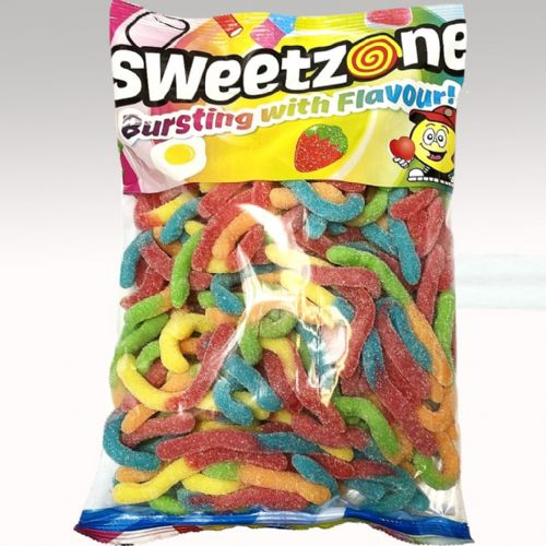 SWEETZONE SOUR WORMS 1KG